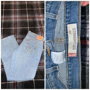 Levi 505 straight jeans